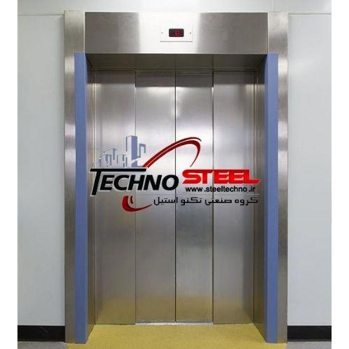درب آسانسور استیل