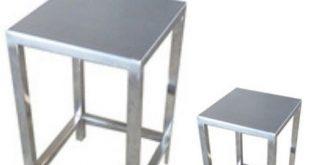 چهارپایه استیل
